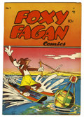 "Golden Age (1938-1955):Funny Animal, Foxy Fagan #7 Davis Crippen (""D"" Copy) pedigree (Dearfield, 1948)Condition: VF+...."