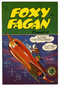 "Golden Age (1938-1955):Funny Animal, Foxy Fagan #6 Davis Crippen (""D"" Copy) pedigree (Dearfield, 1948)Condition: VF/NM...."