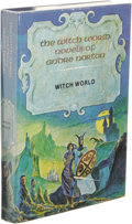 Books:First Editions, Andre Norton: Witch World. Illustrated by Jack Gaughan.(Boston: Gregg Press, 1977), first hardcover edition, 222 pages,...