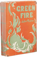 Books:First Editions, John Taine: Green Fire. (New York: E.P. Dutton and Co.,1928), first edition, 313 pages, orange cloth with green letteri...