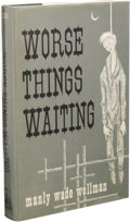 Books:First Editions, Manly Wade Wellman Signed: Worse Things Waiting. Illustratedby Lee Brown Coye. (Chapel Hill, NC: Carcosa, 1973), f...