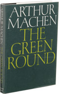Books:First Editions, Arthur Machen: The Green Round. (Sauk City: Arkham House,1968), second edition, 218 pages, jacket design by Ronald Clyn...