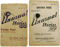 Books:Periodicals, Both Issues of the Rare Unusual Stories Magazine 1934-1935.(Everett, Pennsylvania: Fantasy Publications, 1934-1935)... (Total:2 )