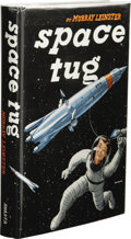 Books:Signed Editions, Murray Leinster: Signed First Edition of Space Tug. (Chicago: Shasta Publishers, 1953), first edition, 223 pages, blue c...