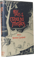 Books:First Editions, Ramsey Campbell (Editor) Signed: New Tales of the CthulhuMythos. (Sauk City: Arkham House, 1980), first edition, 257pa...