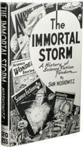 Books:First Editions, Sam Moskowitz: The Immortal Storm: A History of ScienceFiction Fandom (Atlanta, GA: The Atlanta Science Fiction Org...