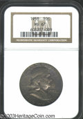 Franklin Half Dollars: , 1958 50C MS67 NGC. Well struck with a deep coating of ...