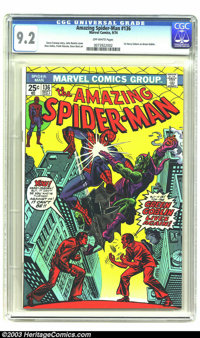 Amazing Spider-Man #200 (Marvel, 1980) CGC NM 9.4 Off-white to white pages. The 200th Anniversary issue retells the Webs...