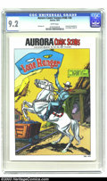 Bronze Age (1970-1979):Western, Aurora Comic Scenes 188-140 (Aurora, 1974) CGC NM- 9.2 White pages. Instruction booklet for Lone Ranger model kit. Gil Kane ...