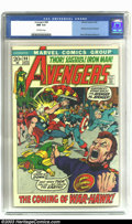 Bronze Age (1970-1979):Superhero, The Avengers #98 (Marvel, 1972) CGC NM 9.4 Off-white pages. Barry Windsor-Smith art. Goliath becomes Hawkeye. Overstreet 200...