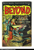 Golden Age (1938-1955):Horror, Beyond #2 (Ace, 1951) Condition: FN. Bakerish art, plus MikeSekowsky art. Overstreet 2003 FN 6.0 value = $87. From theco...