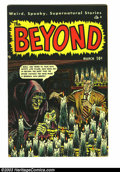 Golden Age (1938-1955):Horror, Beyond #3 (Ace, 1951) Condition: FN+. Wally Woodish art by LouCameron. Mike Sekowsky art. Overstreet 2003 FN 6.0 value = $5...