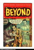 Golden Age (1938-1955):Horror, Beyond #4 (Ace, 1951) Condition: VF-. Overstreet VF 8.0 value =$109. From the collection of Bobby Harmon. ...