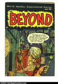 Golden Age (1938-1955):Horror, Beyond #5 (Ace, 1951) Condition: FN/VF. Mike Sekowsky art.Overstreet 2003 FN 6.0 value = $57; VF 8.0 value = $109. Fromt...