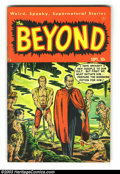 Golden Age (1938-1955):Horror, Beyond #6 (Ace, 1951) Condition: FN/VF. Gene Colan art. Overstreet2003 FN 6.0 value = $57; VF 8.0 value = $109. From the ...