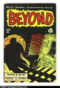Golden Age (1938-1955):Horror, Beyond #7 (Ace, 1951) Condition: VF. Mike Sekowsky art. Overstreet2003 VF 8.0 value = $109. From the collection of Bobby ...