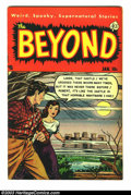 Golden Age (1938-1955):Horror, Beyond #8 (Ace, 1952) Condition: FN+. Overstreet 2003 FN 6.0 value= $57. From the collection of Bobby Harmon. ...