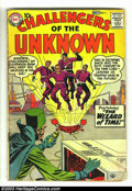 Silver Age (1956-1969):Superhero, Challengers of the Unknown #4 (DC, 1958) Condition: GD. Artwork by Jack Kirby and the great Wally Wood (of EC fame). Great e...