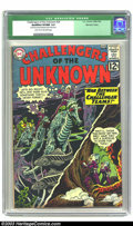 Silver Age (1956-1969):Adventure, Challengers of the Unknown #29 Mohawk Valley pedigree (DC, 1963) CGC Qualified VF/NM 9.0 Light tan to off-white pages . Moha...
