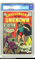 Silver Age (1956-1969):Adventure, Challengers of the Unknown #34 Mohawk Valley pedigree (DC, 1963) CGC FN/VF 7.0 Cream to off-white pages. Mohawk Valley certi...
