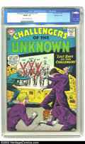Silver Age (1956-1969):Adventure, Challengers of the Unknown #37 Mohawk Valley pedigree (DC, 1964) CGC FN/VF 7.0 Cream to off-white pages. Mohawk Valley certi...