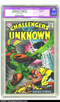 Silver Age (1956-1969):Adventure, Challengers of the Unknown #56 (DC, 1967) CGC Apparent NM- 9.2 Slight (P) Cream to off-white pages. Bob Brown art. CGC notes...
