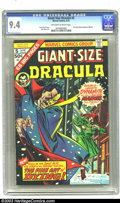 Bronze Age (1970-1979):Horror, Giant-Size Dracula #5 (Marvel, 1975) CGC NM 9.4 Off-white to whitepages. Square bound issue; art by John Byrne (his first w...