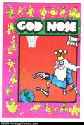 Silver Age (1956-1969):Alternative/Underground, God Nose #1 (Jack Jackson, 1964) Condition: VF/NM. Pink coversecond printing; art by Jack Jackson (Jaxon). Overstreet does ...