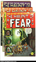 Golden Age (1938-1955):Horror, The Haunt of Fear Group (EC, 1951-54). Three issues -- #7(Condition: GD-); #13 (Condition: GD+; small stain inside frontco... (Total: 3 Comic Books Item)