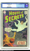 Silver Age (1956-1969):Mystery, House of Secrets #59 (DC, 1963) CGC VF+ 8.5 Cream to white pages.Mark Merlin story; art by Mort Meskin and Howard Purcell. ...