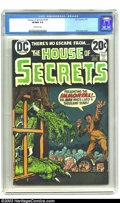 Bronze Age (1970-1979):Horror, House of Secrets #109 (DC, 1973) CGC VF/NM 9.0 Off-white pages.Cover art by Nick Cardy. Overstreet 2003 VF/NM 9.0 value = $...