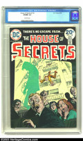 Bronze Age (1970-1979):Horror, House of Secrets #118 (DC, 1974) CGC VF/NM 9.0 Off-white pages.Overstreet 2003 VF/NM 9.0 value = $13; NM 9.4 value = $15....