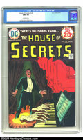 Bronze Age (1970-1979):Horror, House of Secrets #122 (DC, 1974) CGC NM- 9.2 Off-white pages.Overstreet 2003 NM 9.4 value = $10....