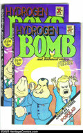Bronze Age (1970-1979):Alternative/Underground, Hydrogen Bomb Funnies Group (Rip Off Press, 1970). Two first printing ($1.00 price) copies; one FN-, the other VG+. Art by G... (Total: 2 Comic Books Item)