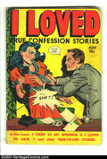 Golden Age (1938-1955):Romance, I Loved #28 (Fox Features Syndicate, 1949) Condition: FR/GD.Overstreet 2003 GD 2.0 value = $8. ...