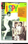 Silver Age (1956-1969):Adventure, I Spy #5 (Gold Key, 1968) Condition: FN/VF. TV cover of show that starred Bill Cosby and Robert Culp. Overstreet 2003 FN 6.0...