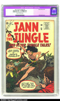 Silver Age (1956-1969):Adventure, Jann of the Jungle #15 (Atlas, 1957) CGC Apparent VF- 7.5 Slight (A) Cream to off-white pages. Cover art by Bill Everett. CG...