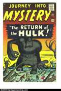 "Silver Age (1956-1969):Horror, Journey into Mystery #66 (Marvel, 1961) Condition: VG. Prototypeissue. Return of Xemnu ""The Hulk."" Art by Jack Kirby and St..."