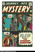 Silver Age (1956-1969):Horror, Journey into Mystery #79 (Marvel, 1962) Condition: VG+. Prototypeissue. (Mr. Hyde.) Jack Kirby and Steve Ditko art. Overstr...