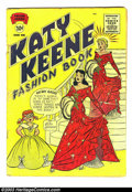 Golden Age (1938-1955):Romance, Katy Keene Group (Archie, 1955). Two Katy books -- Katy Keen Annual#2, condition: GD-, and Katy Keen Fashion Book #... (Total: 2 ComicBooks Item)