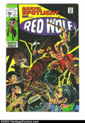 Bronze Age (1970-1979):Western, Marvel Spotlight #1 Red Wolf (Marvel, 1971) Condition: VF+. Origin of the western hero Red Wolf. Neal Adams cover, Wally Woo...
