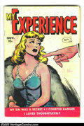 Golden Age (1938-1955):Romance, My Experience #20 (Fox Features Syndicate, 1949) Condition: VG-.Sleazy Fox romance. Overstreet 2003 VG 4.0 value = $22....
