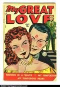 Golden Age (1938-1955):Romance, My Great Love #1 (Fox Features Syndicate, 1949) Condition: GD+.Tawdry Fox romance. Overstreet 2003 GD 2.0 value = $15. ...