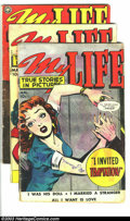 Golden Age (1938-1955):Romance, My Life Group (Fox, 1950) Condition: Average GD. This lot consists of issues #12, 14, and 15. Overstreet 2003 value for grou... (Total: 3 Comic Books Item)
