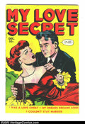 Golden Age (1938-1955):Romance, My Love Secret #27 (Fox Features Syndicate, 1949) Condition: VG.Melodramatic Fox romance. Overstreet 2003 VG 4.0 value = $1...