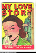 Golden Age (1938-1955):Romance, My Love Story #1 (Fox Features Syndicate, 1949) Condition: VG.Trashy Fox romance. Overstreet 2003 VG 4.0 value = $30....