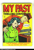 """Golden Age (1938-1955):Romance, My Past #9 Canadian (Fox Features Syndicate, 1950) Condition: VG-.Subtitled """"Thrilling Confessions."""" This is a Canadian cop..."""