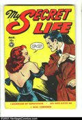 Golden Age (1938-1955):Romance, My Secret Life #26 (Fox Features Syndicate, 1950) Condition: VG+. Wally Wood art. Overstreet 2003 VG 4.0 value = $36....