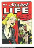 Golden Age (1938-1955):Romance, My Secret Life #27 (Fox Features Syndicate, 1951) Condition: VG.Sordid Fox romance. Overstreet 2003 VG 4.0 value = $18....