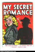 Golden Age (1938-1955):Romance, My Secret Romance #2 (Fox Features Syndicate, 1950) Condition: VG-. Wally Wood art. Overstreet 2003 VG 4.0 value = $38....
